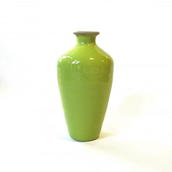 Vase Grün Modern Osterdekoration Frühling 22 cm