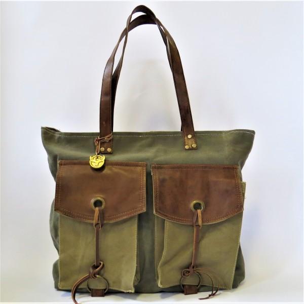 Tasche Damentasche Schultertasche Shopper Grün Pinelake Lodge