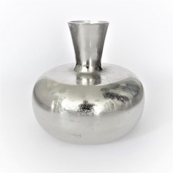 Vase Bodenvase Dekovase silber Colmore Matki 29x29x27 cm 001-19-3052