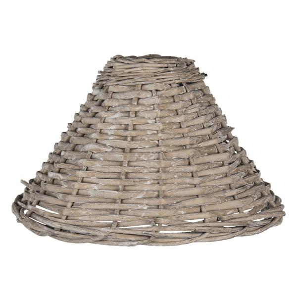Lampenschirm Rattan Landhaus Clayre & Eef Pyramiden Clayre & Eef E27
