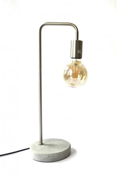 Lampe Industrie Stil Modern Tisch Beton Metall Bürolampe Schreibtisch 47 cm E27 LED