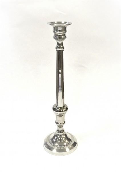 Kerzenständer Kerzenleuchter Kerzenhalter XL Massiv silber Colmore 1armig 51 cm
