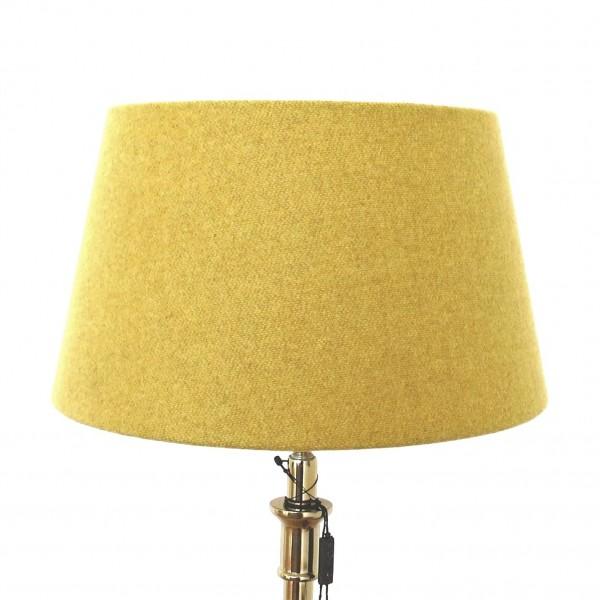 Lampenschirm Senfgelb Curry Gelb Stoff Colmore 25 x 19 x 14 cm E27