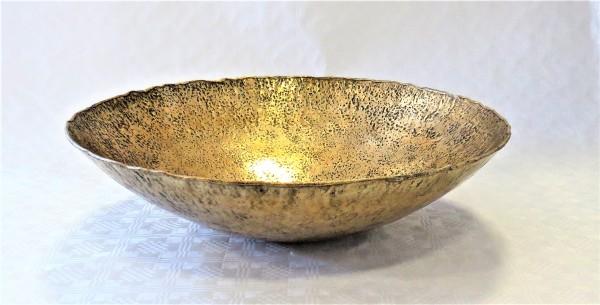 Schale Dekoschale gold Metall Colmore 46 x 46 x 15 cm