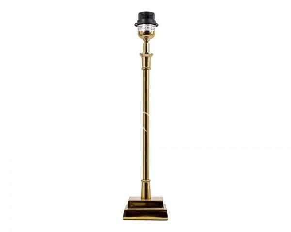 Lampe Lampenfuß Tisch Gold Metall Colmore Modern 48 cm 211-15-026-L-Gold E27
