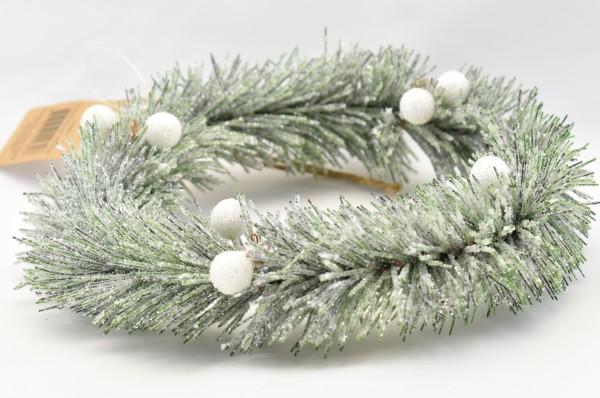 Kranz mini Weihnachtskranz mini Christmas Memoriers Mini Wreath Riviera Maison 18 cm