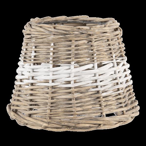 Lampenschirm Natur Rattan Tisch Maritim Clayre & Eef 20 x 15 cm
