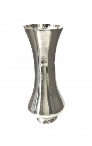 Bodenvase Vase Dekovase silber Colmore 26 x 26 x 62 cm 001-16-1593-L