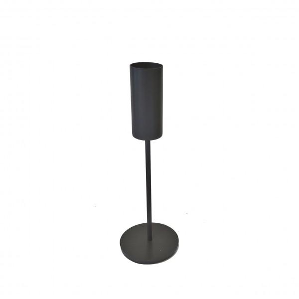 Teelichthalter Kerzenständer Metall Anthrazit 10 x 30 cm Light & Living 6190215