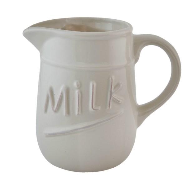Kanne Milch Milchkännchen Krug Landhaus Clayre & Eef