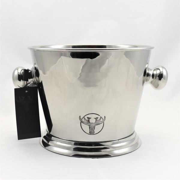 Sektkühler Weinkühler Champagnekühler silber Pinelake Lodge Bargo 17 x 22 cm 6519-Ni