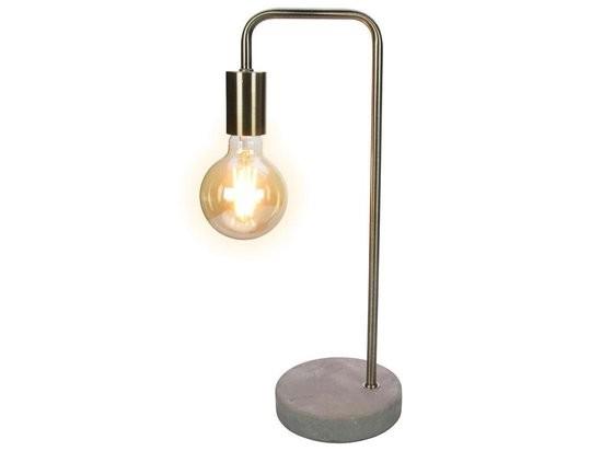 Lampe Industrie Stil Modern Tisch Beton Metall 47 cm E27 LED
