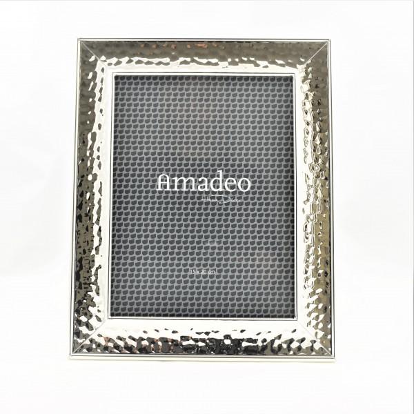 Fotorahmen Bilderrahmen Fotoständer Bild Rahmen 15 x 20 cm Amadeo silber
