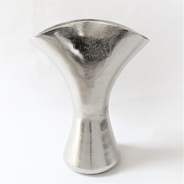 Vase Tisch Deko silber Modern Colmore Metall 31 cm 001-16-1670-S