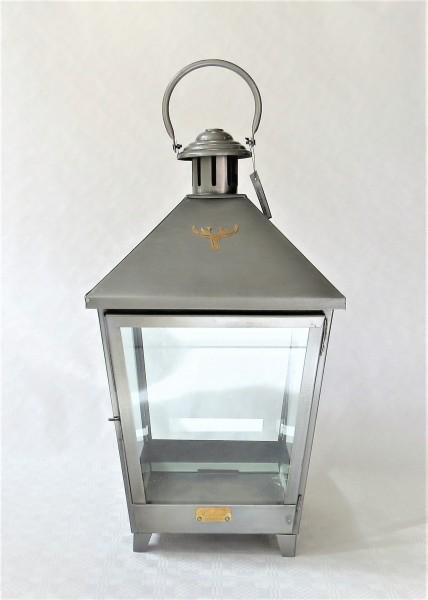 Laterne Windlicht Colmore Zink Glas anthrazit 54 cm 014-14-132