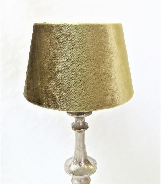 Lampenschirm Samt Colmore grün 20 x 15 x 13 cm venus metallic green