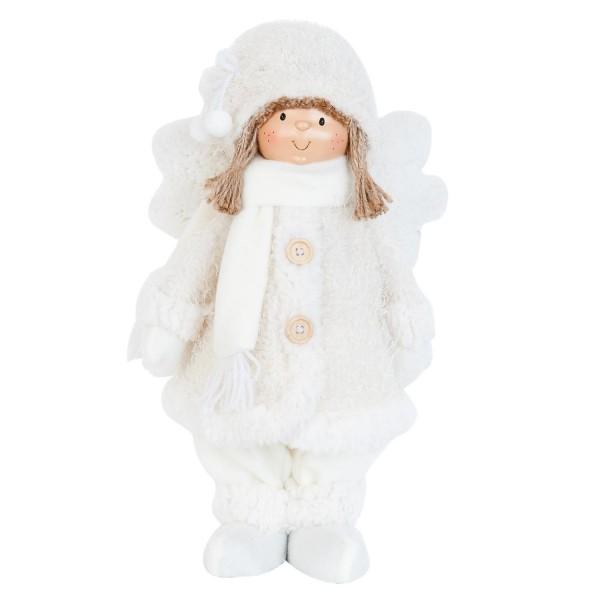 Weihnachtsengel Puppe Engel Weihnachten Clayre & Eef TW0407 l ca. 22 x 14 x 38 cm