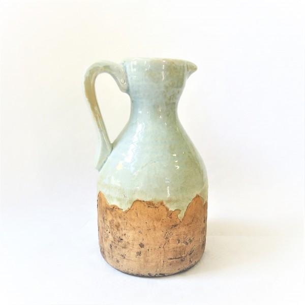 Kanne Krug Vase Shabby Chic Elzet 27 x 17 cm