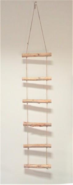 Dekoleiter Holzleiter Dekozweig Hänger Shabby 160 x 30 x 4 cm Natural Collections