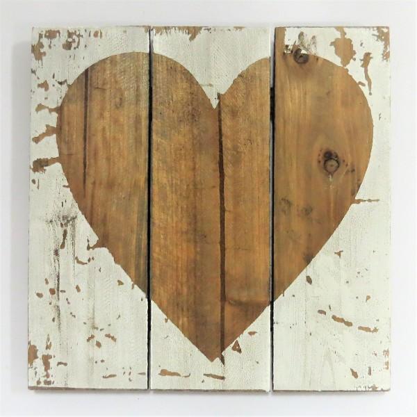 Schild Dekoschild Holzschild Herz