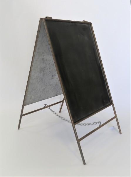 Tafel Kreidetafel Deko Mini Standtafel Sommerfield Antik Stil 45 x 25 cm