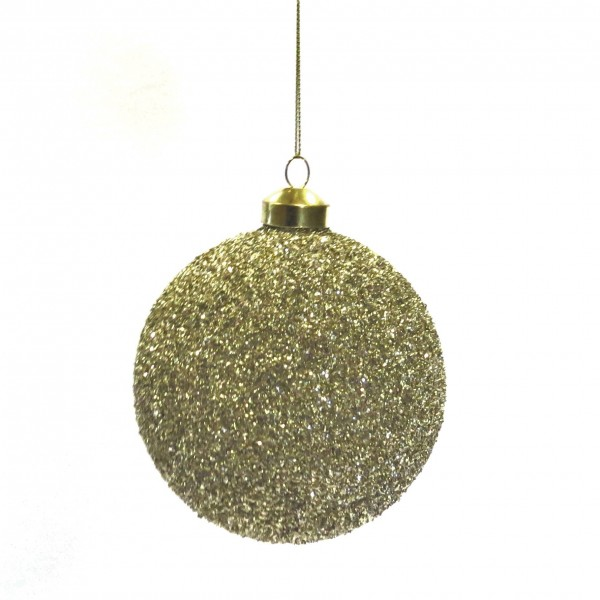 Christbaumkugel Weihnachtskugeln Christbaumschmuck Gold Colmore 10 cm 4er Set