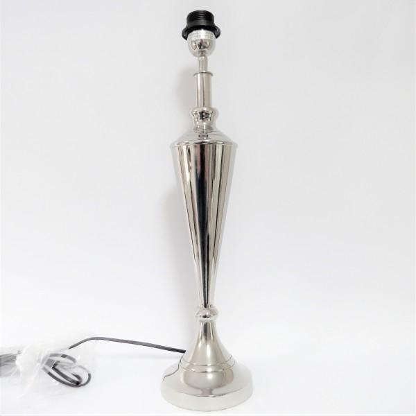 Lampe Lampenfuß Tischlampe Messing 54 cm