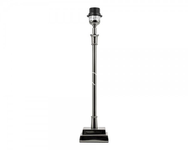 Lampe Lampenfuß Modern Colmore Metall silber 38 cm E27 211-15-026M E27 40W