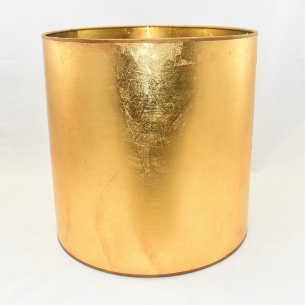 Lampenschirm Zylinder Gold Colmore 30 X 30 X 30 Cm Lampen