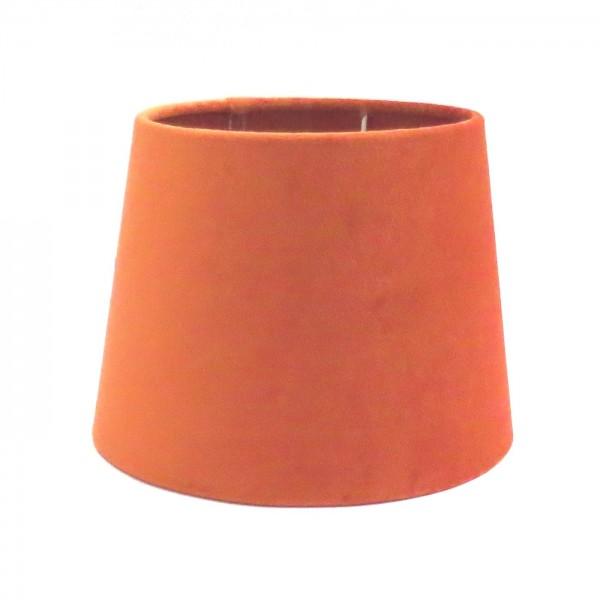 Lampenschirm Apriot Lachsfarben Samt Tischlampenschirm Modern Colmore E27