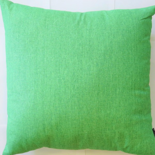 Hamilton Kissen Dekokissen Zierkissen grün Reißverschluss Hippie 40 x 40 cm