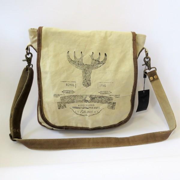 Tasche Damentasche Handtasche beige Pinelake Lodge 30 x 8 x 32 cm Baumwolle