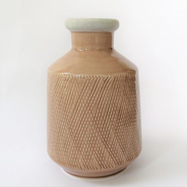 Vase Blumenvase Sahara Sunset braun Keramik 20,5 cm retro