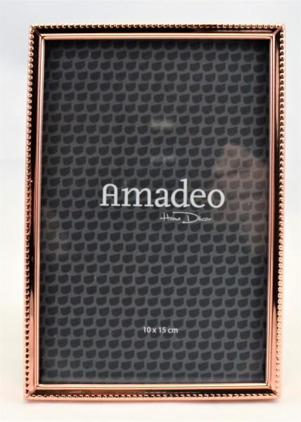Bilderrahmen Fotorahmen Amadeo Kupfer 10 x 15 cm