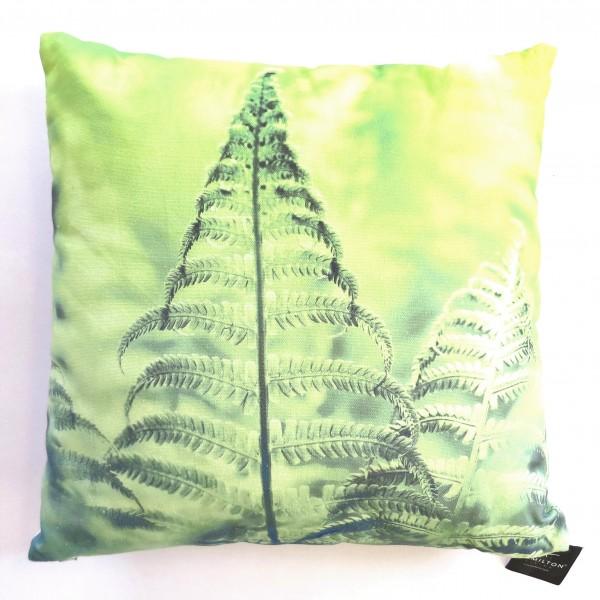 Hamilton Kissen Zierkissen Deko Sofa Tropisch Botanik Farn 45 x 45 cm grün