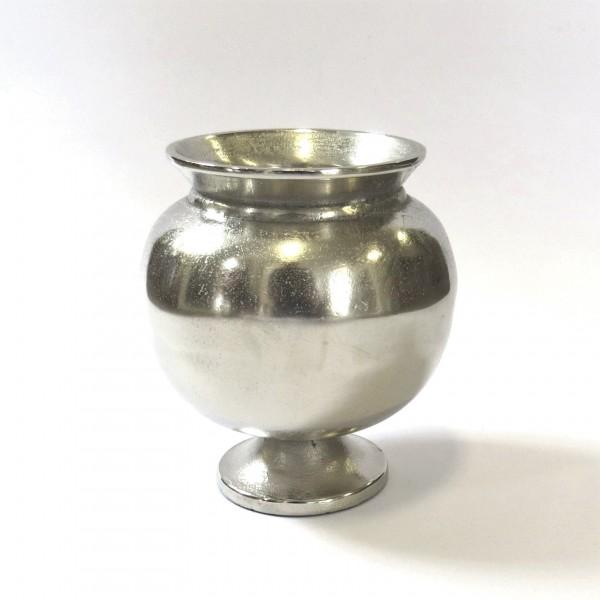 Vase Dekovase Tisch Rund Silber Modern Colmore 17 cm cm 001-18-2682-L