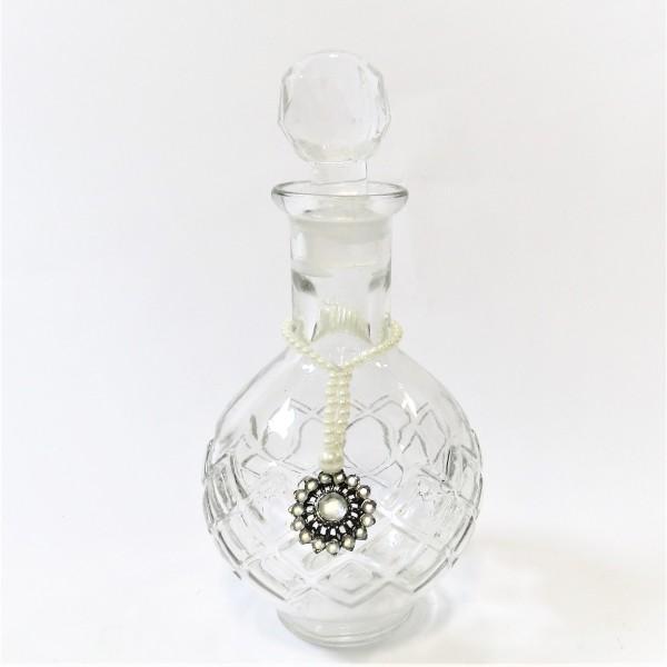 Dekoflasche Glas Flacon Parfümflasche 21*10 cm