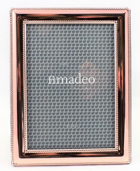 Bilderrahmen Fotorahmen Amadeo Kupfer 13 x 18 cm