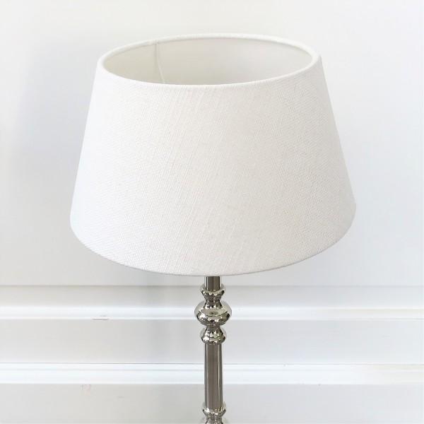 Lampenschirm weiß Stoff Light & Living 25 x 18 x 14 cm 2025811