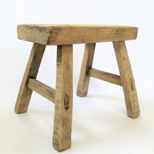 China Hocker Holz Deko 22,5 x 26 x 20 cm