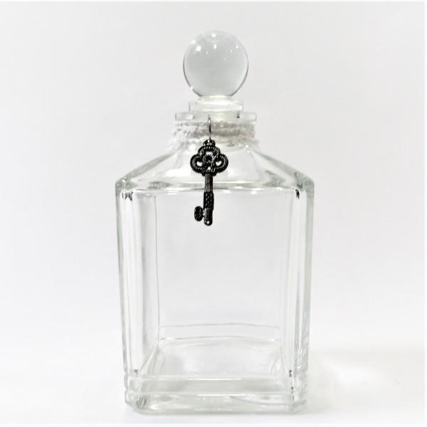 Hamilton Dekoflasche Glas Flacon Parfümflasche 15 cm