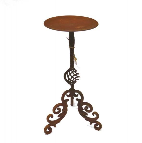 Kerzenständer Kerzenhalter Rost XL Metall Antik Stil Deko 46 cm