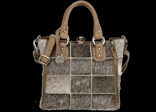 Damentasche Handtasche Tasche Bull & Hunt Fell Leder Jackie Sherpa 25 x 27 x 15 cm