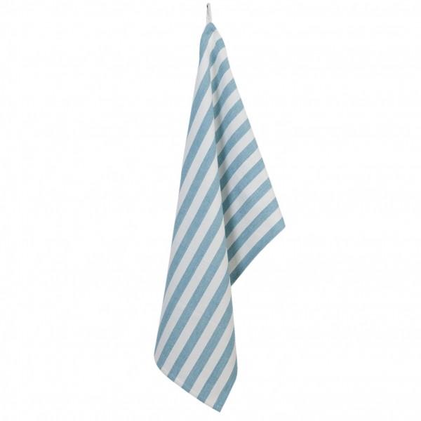 Clayre & Eef Geschirrtuch Küchentuch Küchenhandtuch maritim blau Baumwolle 50*85 cm