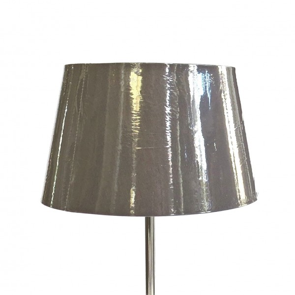 Lampenschirm Leuchtenschirm Modern Pfefferfarben Tisch Colmore E27 25x20x15 cm