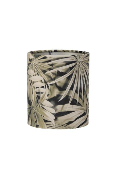 Lampenschirm Leuchtenschirm Tropisch Palme Samt Botanik Light & Living E27